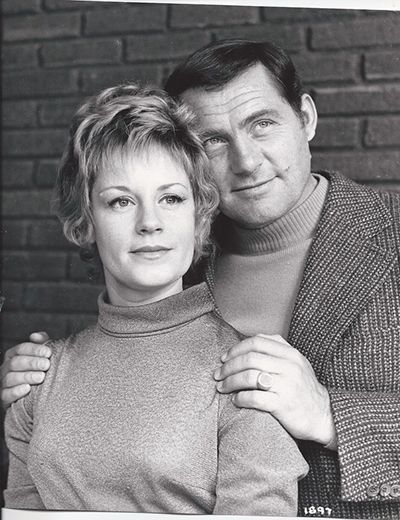 Mary Ure and Robert Shaw
