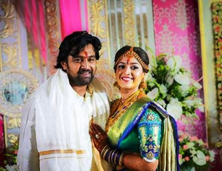 Meghana Raj and Chiranjeevi Sarja's Wedding Picture