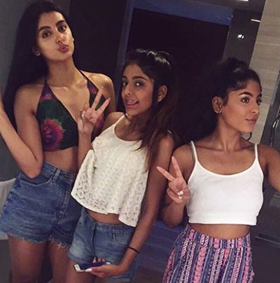 Nikkita Chadha with her Sisters