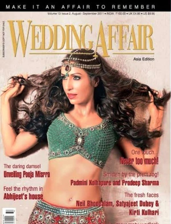 Pooja Misrra Featured on a Magazine Cover