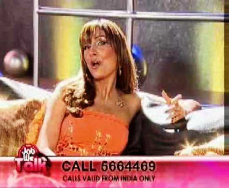 Pooja Misrra in the talk show, Jab We Talk