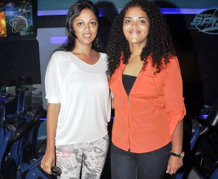 Pooja Shetty With Her Sister