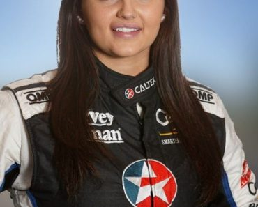 Renee Gracie in Racing Dress