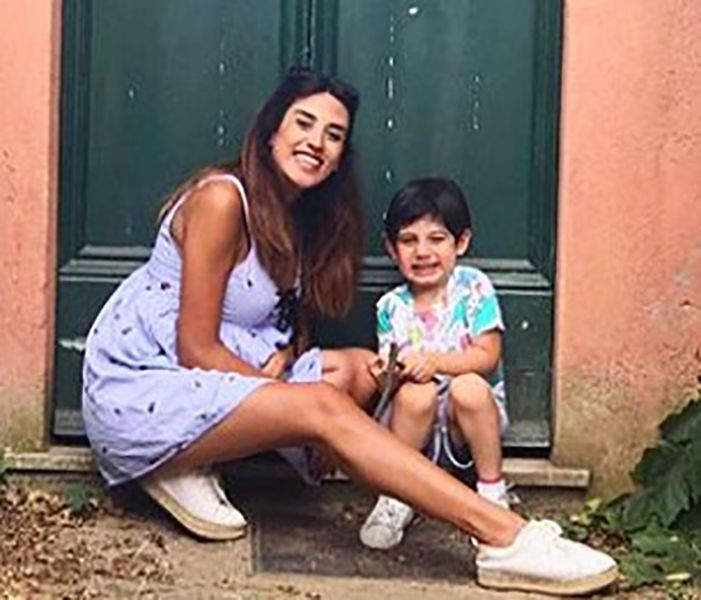 Rouba Saadeh with her Son, Marcus