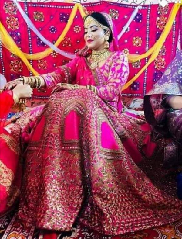 Safoora Zargar's Wedding Day Photo