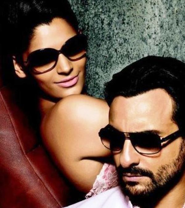 Saiyami Kher With Saif Ali Khan in an Advertisement