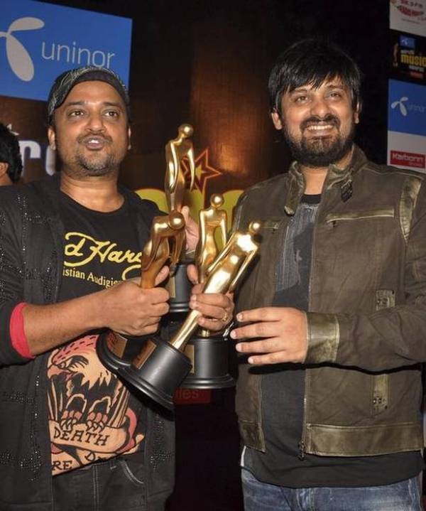 Sajid Khan and Wajid Khan With Their Awards