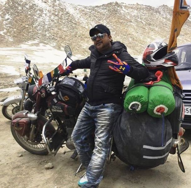 Sajid Khan on a Trip