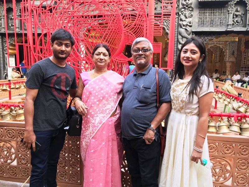 Shantilal Mukherjee's Brother, Kantilal and His Family