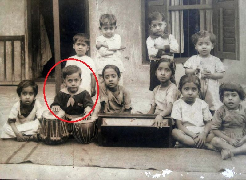 Shantilal Mukherjee's Childhood Picture