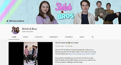 Shiloh & Bros-YouTube Channel