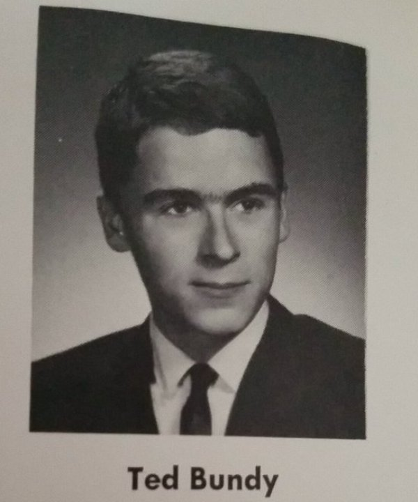 Ted Bundy During His High School