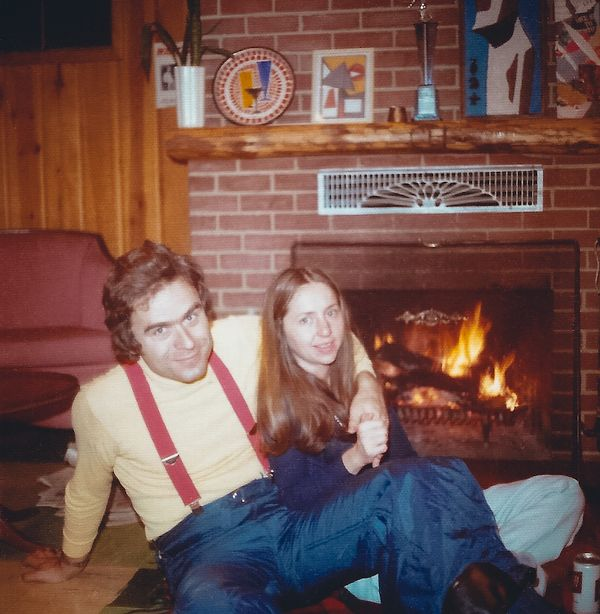 Ted Bundy With His Ex-Girlfriend Elizabeth Kloepfer aka Elizabeth Kendall