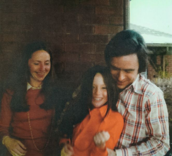 Ted Bundy With His Ex-Girlfriend Liz Kendall and Surrogate Daughter Molly