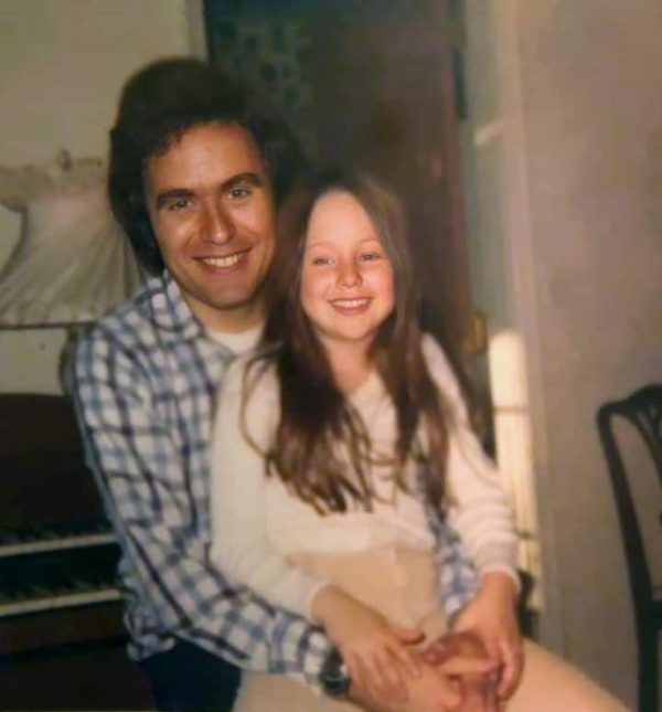 Ted Bundy With His Surrogate Daughter Molly