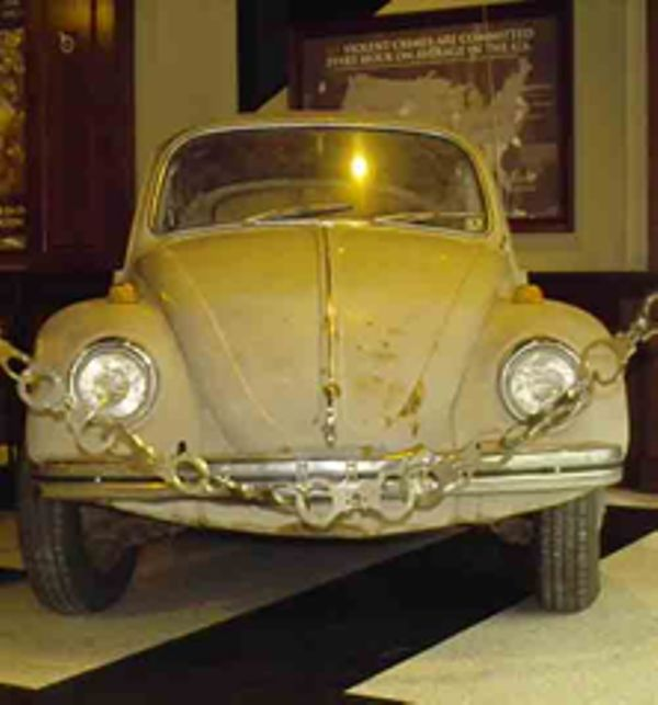 Ted Bundy's Volkswagen Beetle