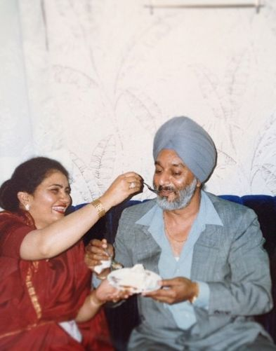 Zorawar Singh Ahluwalia's parents