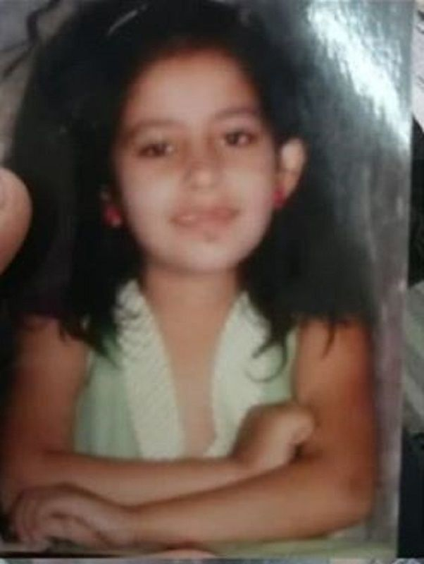 A Childhood Picture of Shradha Kaul