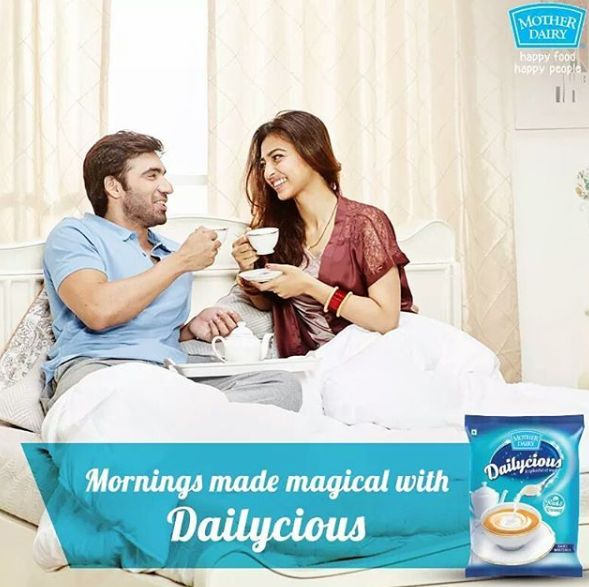 Avinash Tiwary in Mother Dairy's advertisement