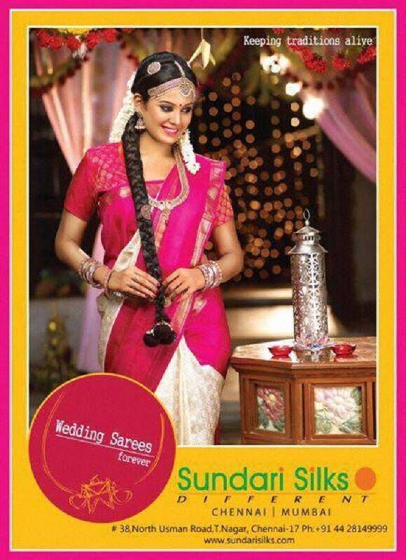 Chandini Tamilarasan in an Ad Campaign