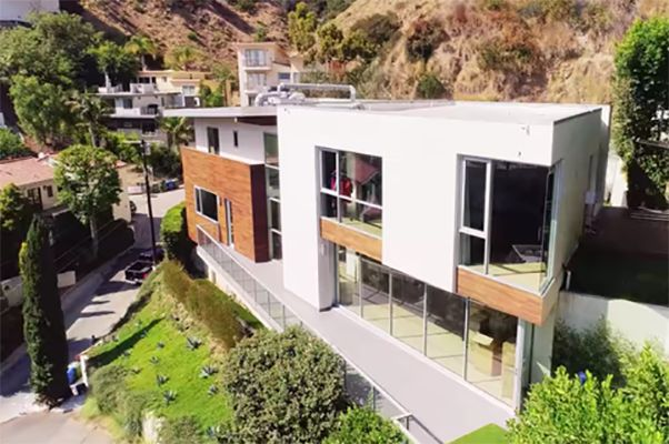 Christian Richard and Christine Quinn's Home in Hollywood Hills