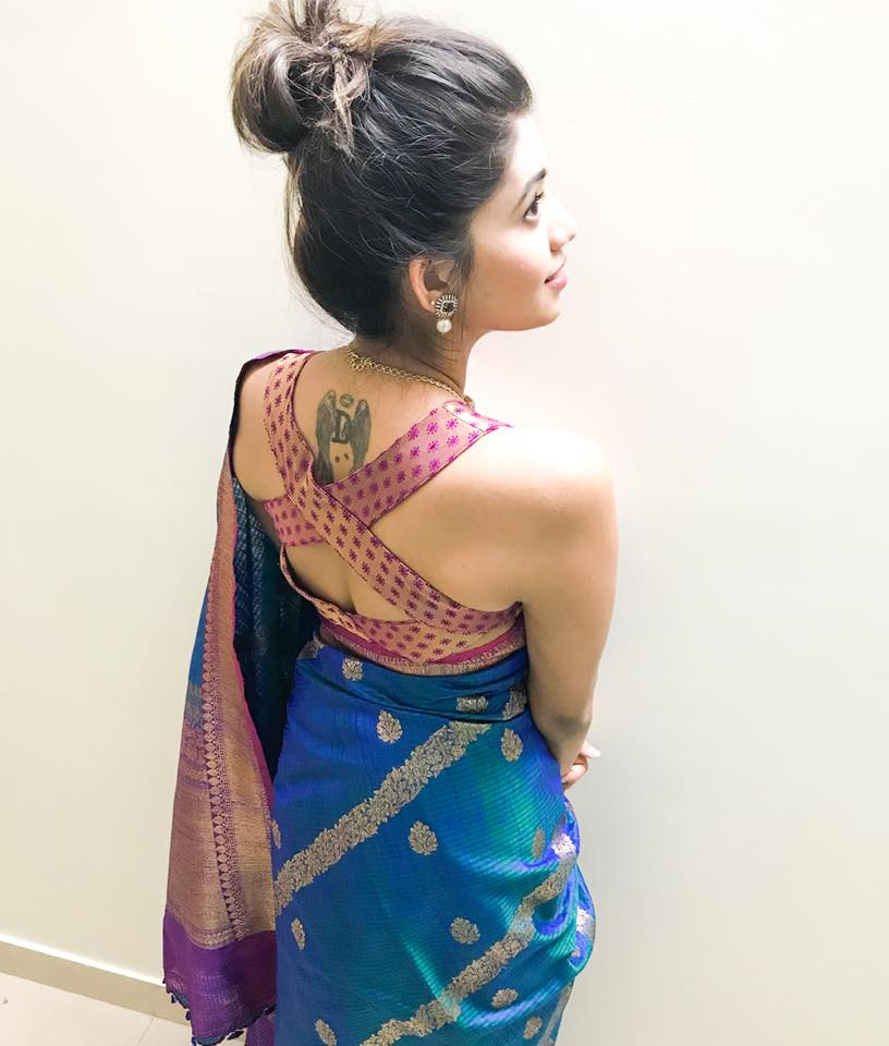 Disha Madan's tattoo