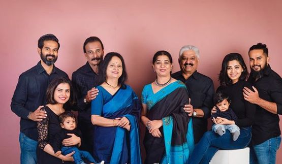 Disha Madan with her family