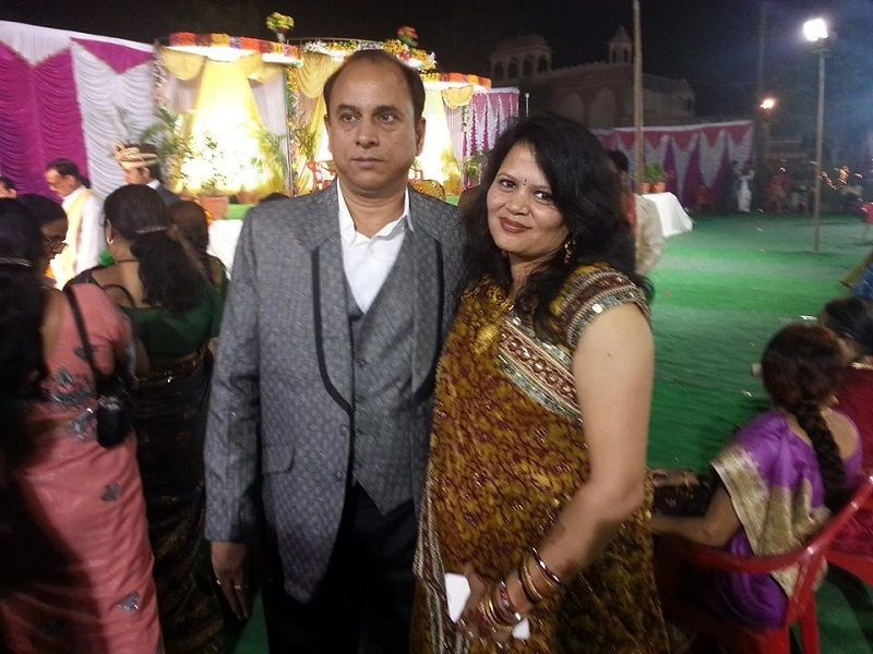Dr Richa Negi's Parents