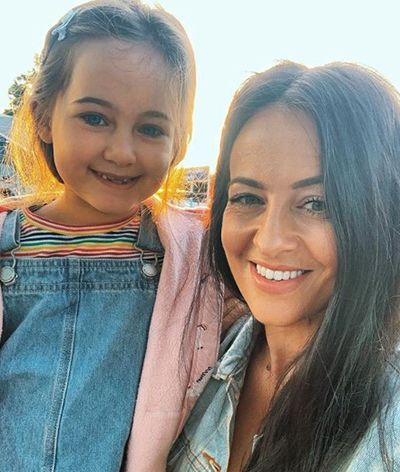 Ella Prebble with her Mother