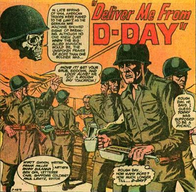 Frank Miller Credited in Deliver Me From D-Day