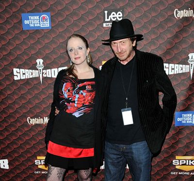 Frank Miller with Kimberly Cox