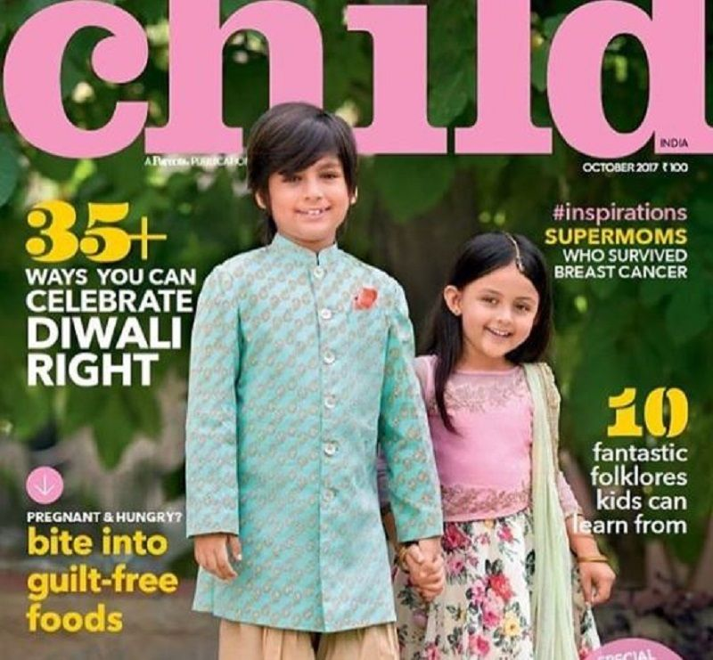 Ivana Kaur Featured on a Magazine Cover
