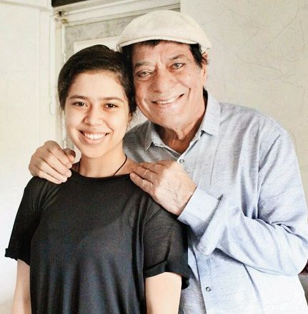 Jagdeep with his daughter Muskan