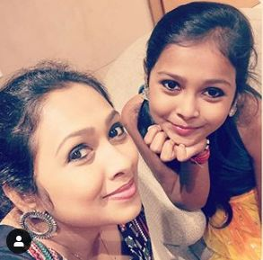 Jayashree Rao with her daughter