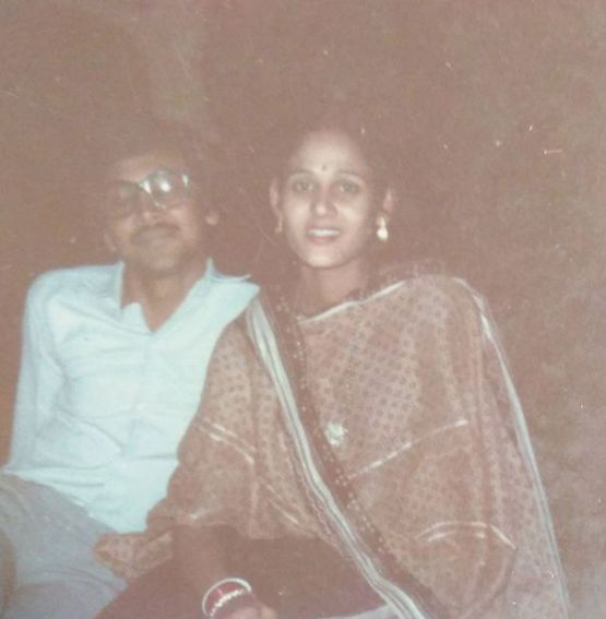 Kaveri Priyam's parents