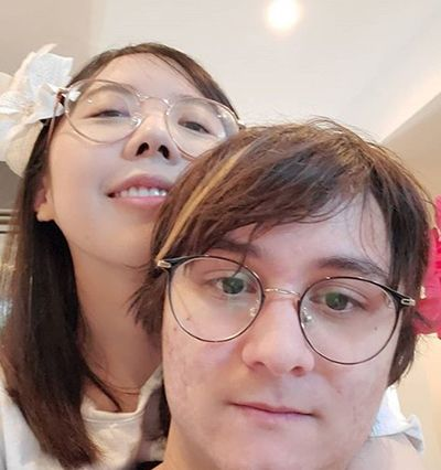 Michael Reeves with LilyPichu