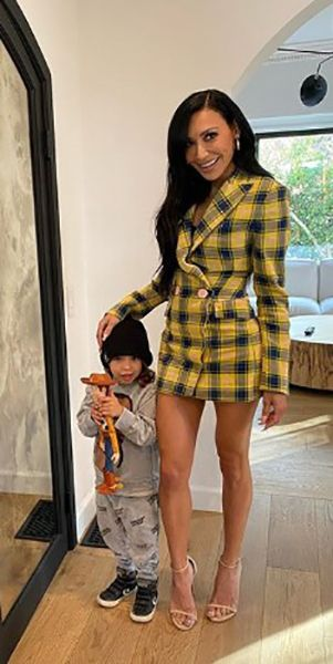 Naya Rivera with her Son