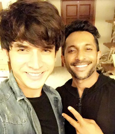 Paras Kalnawat with Terence Lewis