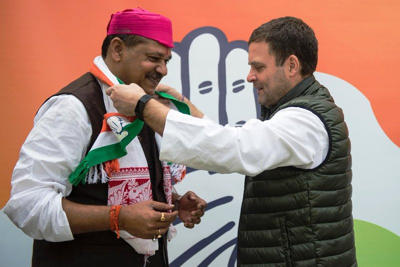 Rahul Gandhi welcomes Kirti Azad in the party