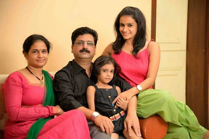 Resham Shrivardhan and Her Family