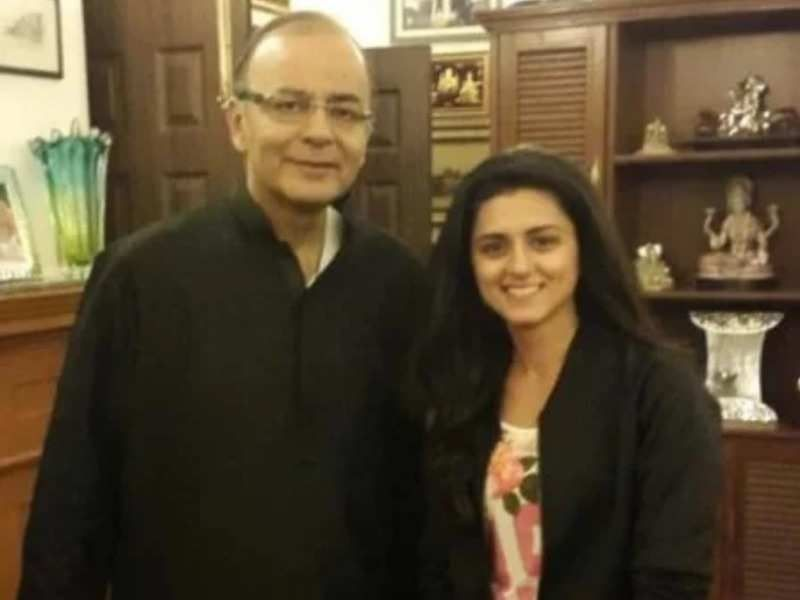 Ridhi Dogra With Her Uncle