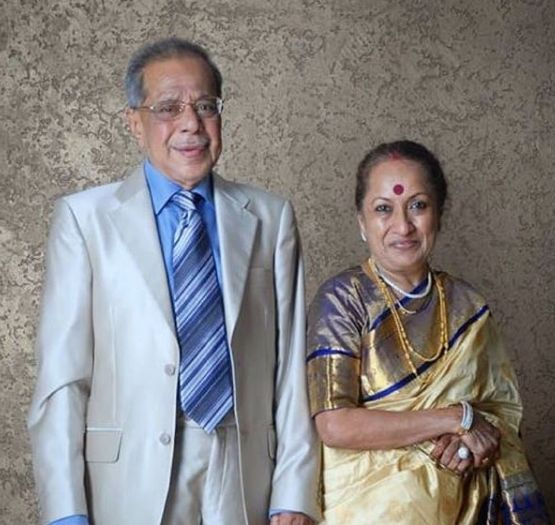 Rupali Ganguly's parents