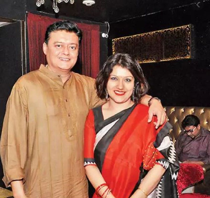 Saswata Chatterjee With His Wife