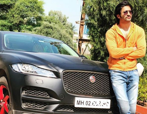 Shaheer Sheikh with his car