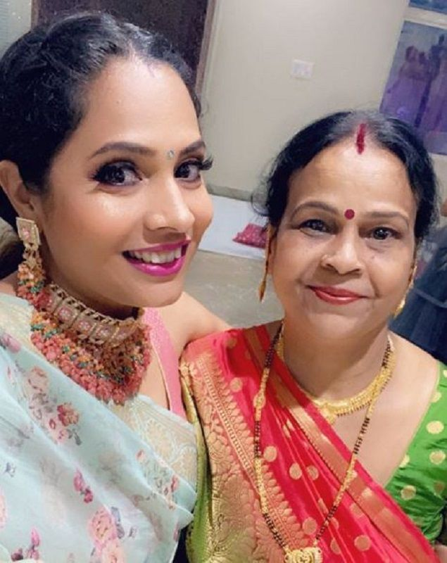 Shruti Arjun Anand With Her Mother-in-Law