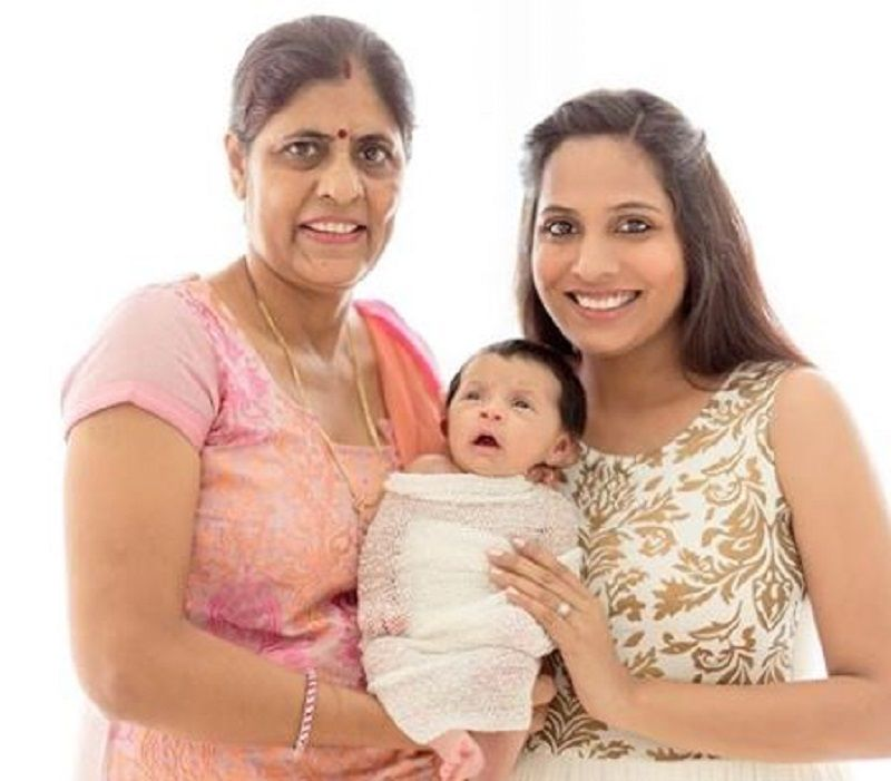 Shruti Arjun Anand With Her Mother