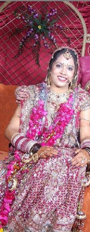 Shruti Arjun Anand at Her Wedding Day