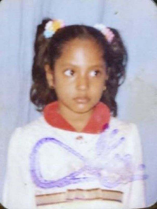 Shruti Arjun Anand's Childhood Picture