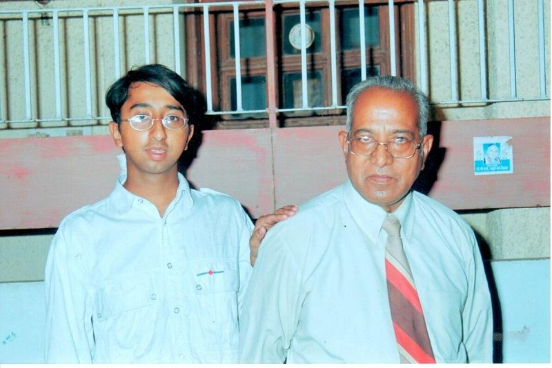 Sujata Paul's Father and Brother