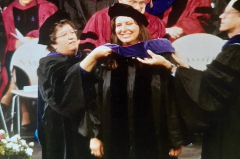Tara Reade as a Law Graduate in 2004